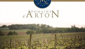 "Some wonderful recognition of 2014 Domaine d'Arton ""La Croix Réserve"""