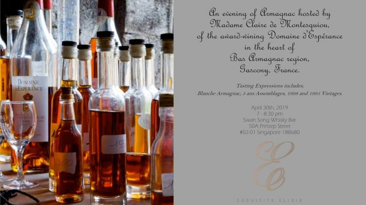 Tasting event at Swan song