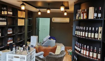 Our new Armagnac Tasting Room, in-house Art Gallery and new office at Sukhumvit Soi 31